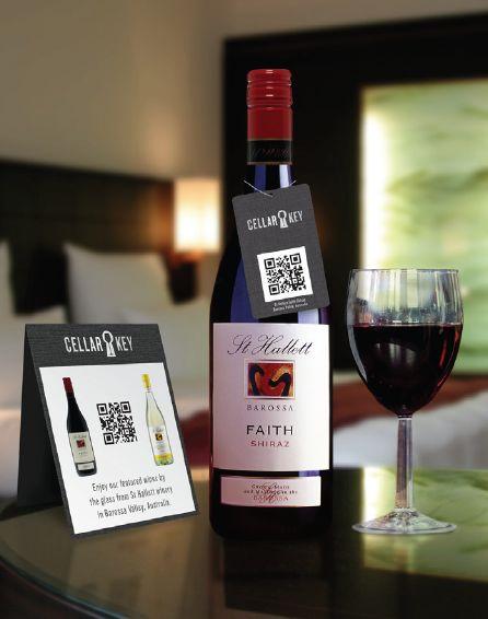 Friday Qr Code Versus Barcode On Wine Label Vinum Vine