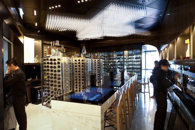 Amo Eno Wine Bar IFC Hong Kong