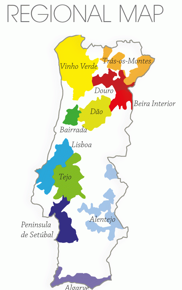 Saturday Portugal Wine Map Vinum Vine
