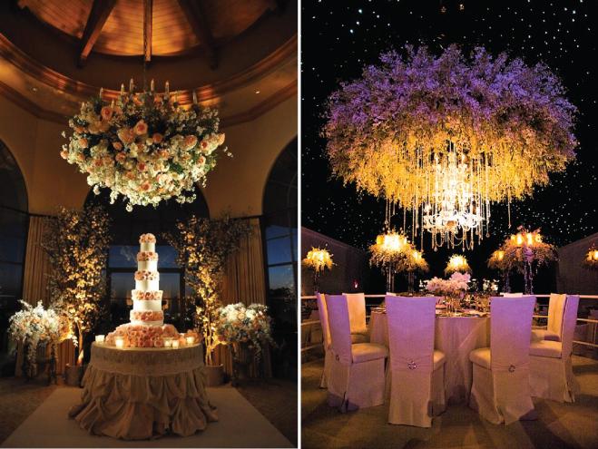 bryllupsfeiring centerpieces dekorasjon