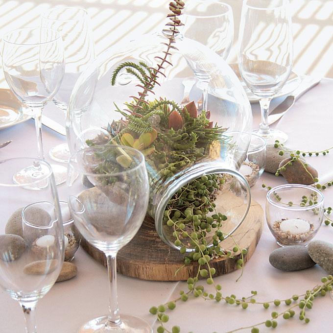 свадба прием centerpieces декорација