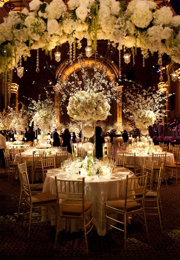 Свадебный прием центральные украшения
