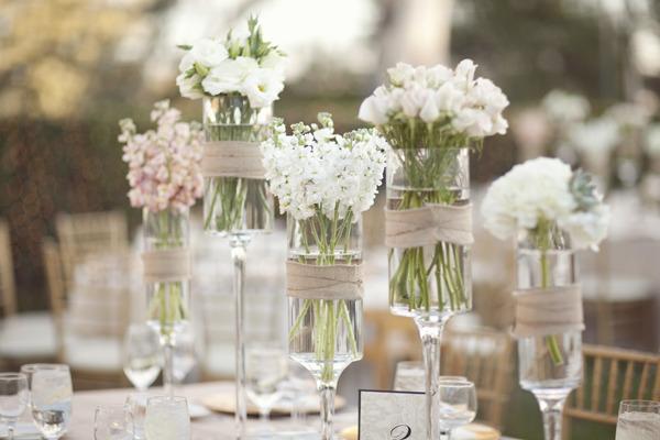 esküvői fogadás centerpieces dekoráció