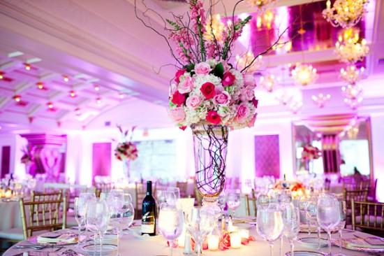 Hochzeit Mittelstücke Dekoration