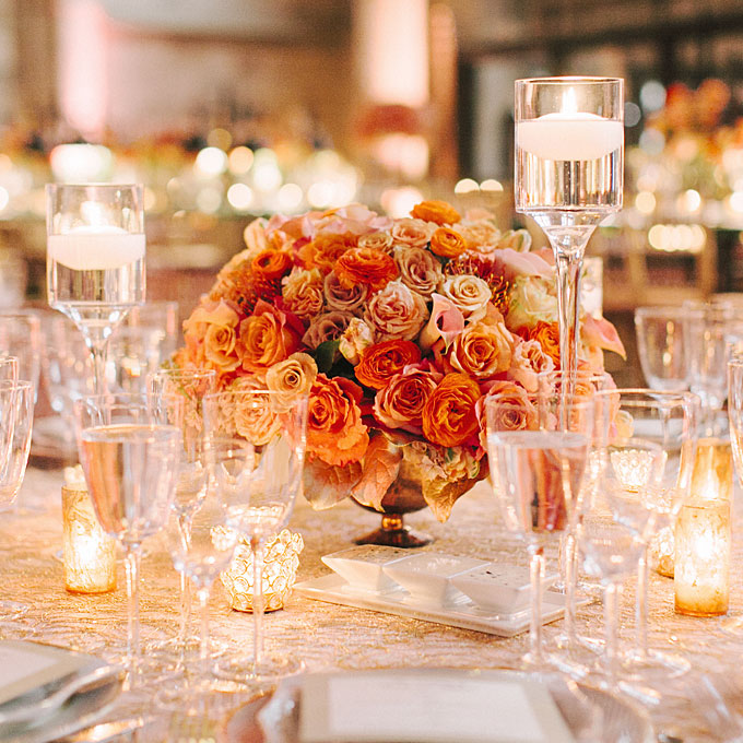 Flowers For A Wedding Reception: Architecture And Interior Design