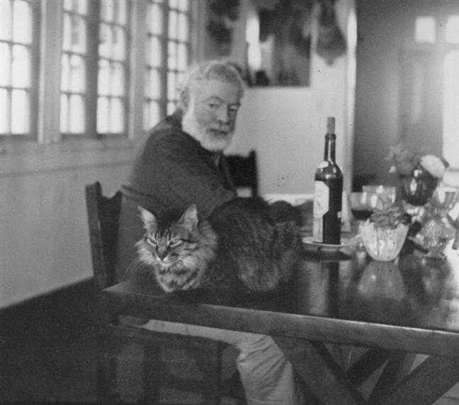 Ernest Hemingway and wine