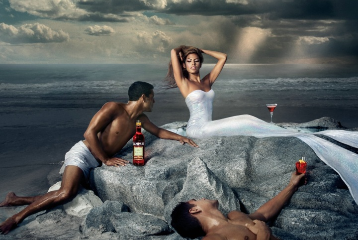 Eva Mendes Campari Wine 2008 February