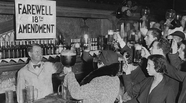 Farewell 18th Amendment Prohibition of Alcohol