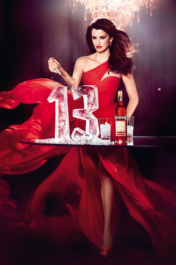 Penelope Cruz Wine Campari 2013 Intro