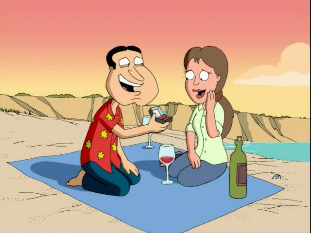Quagmire proposed over wine