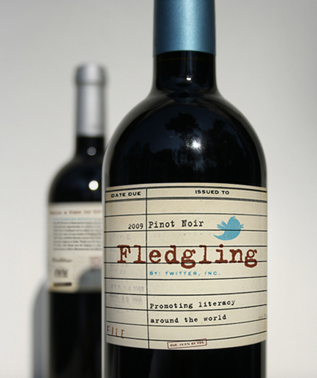 Fledgling Pinot Noir 2009 Wine Label
