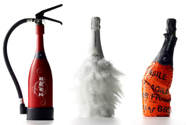Zarb Bizarre Šampanjec vino Embalaža