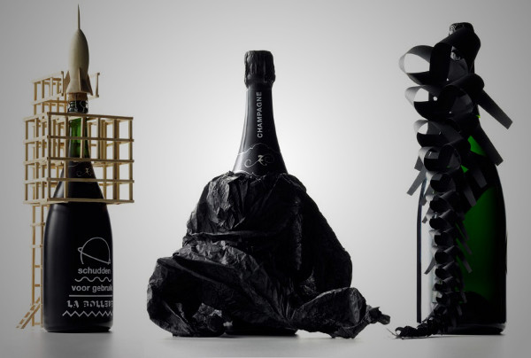 Zarb Bizarre Champagne Packaging