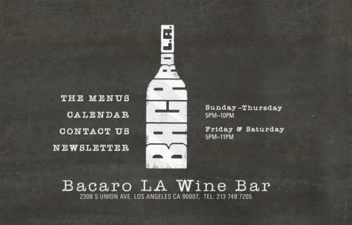 Bacaro LA Wine Bar logo