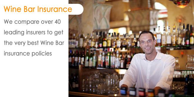 Wine Bar Insurance