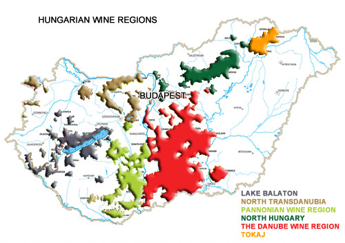 Hungarian Wine Region