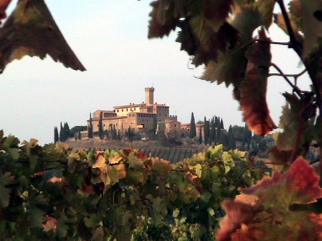 Tuscany Wine Castle by Ed Dudkowski