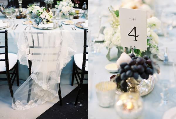 esküvői asztaldísz szőlő