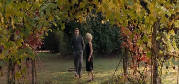 My Week with Marilyn 2011 under the vines. Michelle Williams Eddie Redmayne