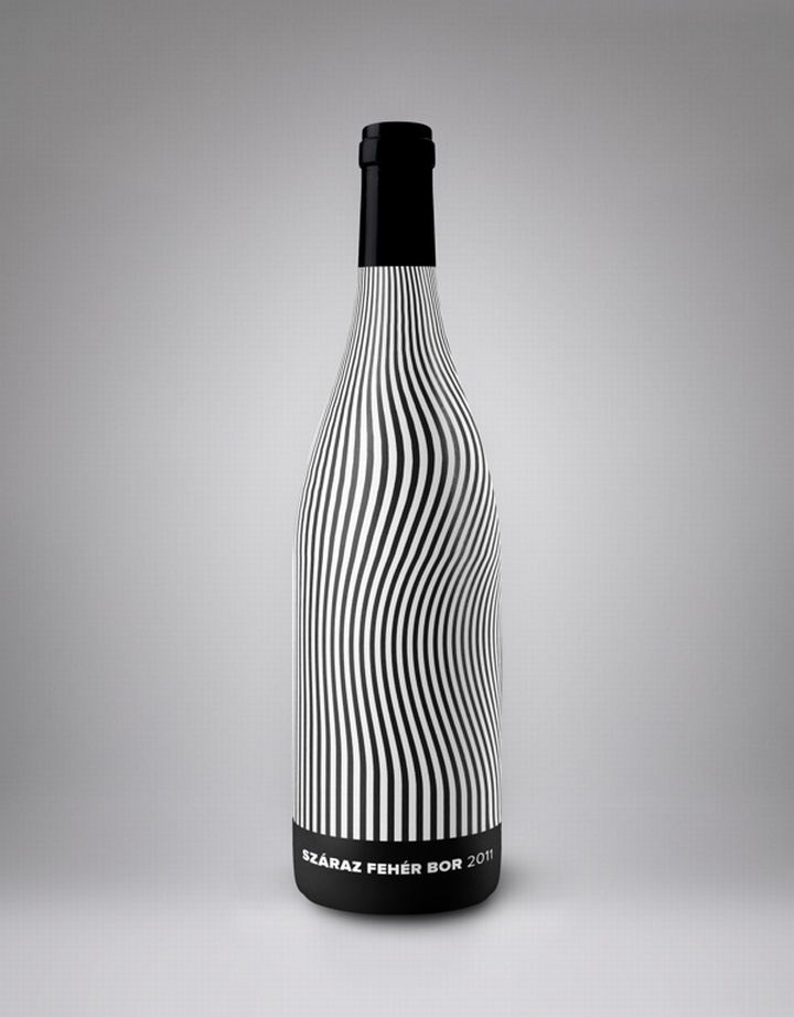 Hrsz. 737 Wine Label by Kira Koroknai Vinum Vine