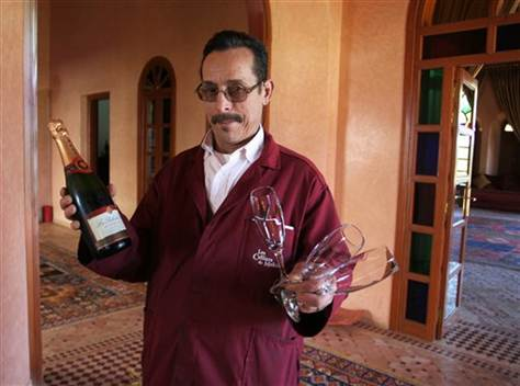 Wine thrives in Muslim Morocco