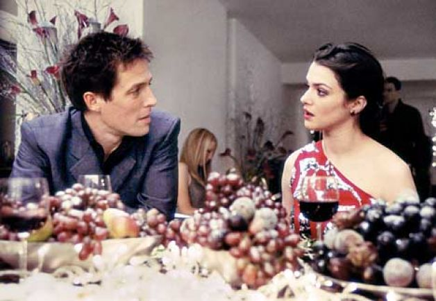 Hugh Grant Rachel Weisz About A Boy Wine grapes