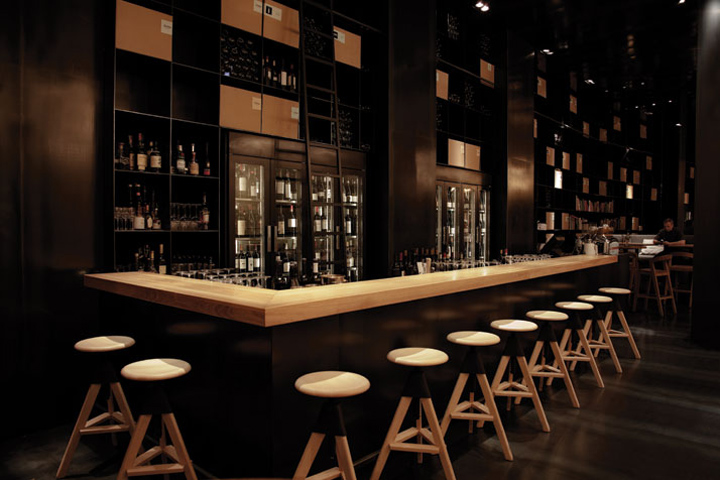 Zona wine bar and restaurant by Heni Kiss and Pos1t1on Budapest Hungary 1