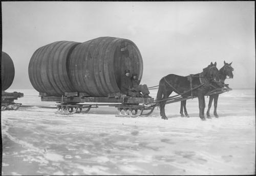 Lake Erie Wine Barrels