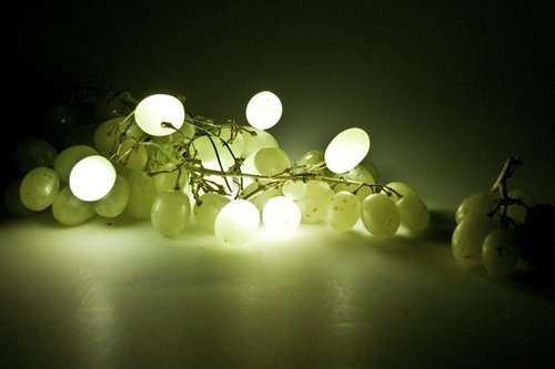 TechnoFood by Knol light up grapes