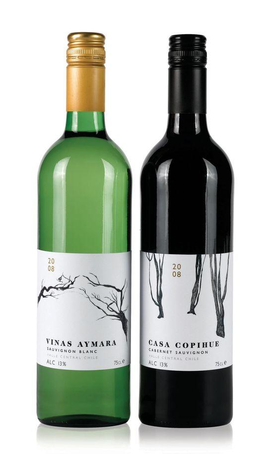 Vinas Aymara Sauvignon Blanc bouteille à vin