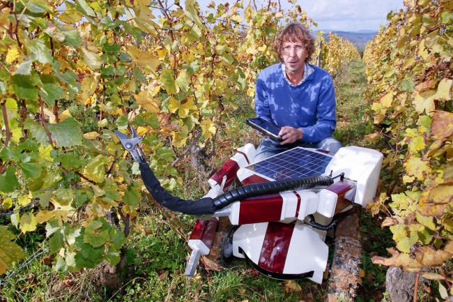 Christophe Millot robot vineyards