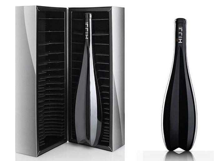Zaha Hadid LImited Edition Wine bottle Austrian Winemaker Leo Hillinger