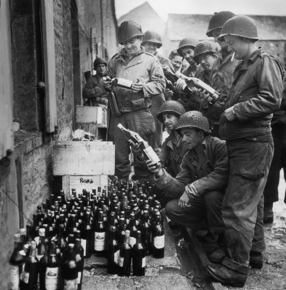wine and soldiers