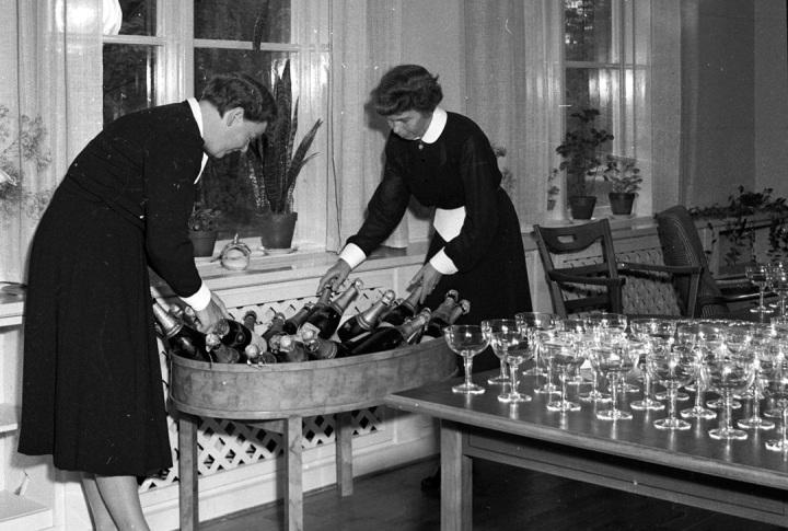 wine in 1950