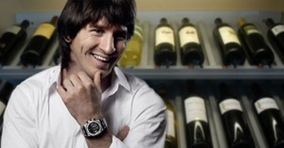 lionel messi wine