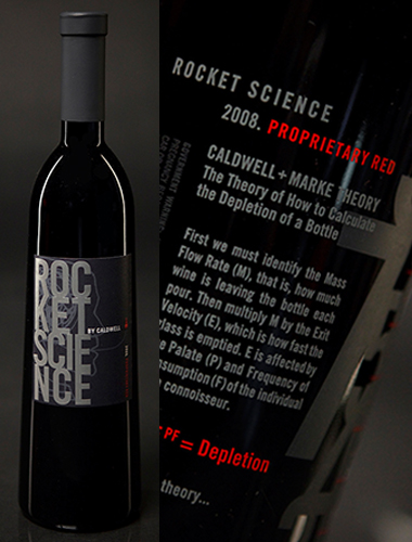 Rocket Science Caldwell Vineyard 2011