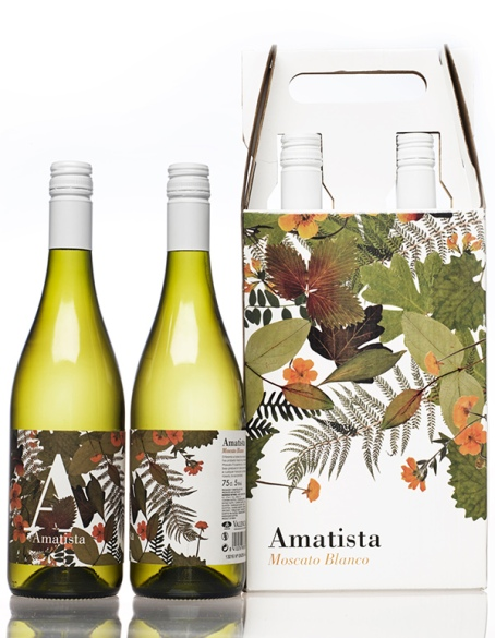 Amatista Moscato blanco and Rosado 2014 Cheste Agraria