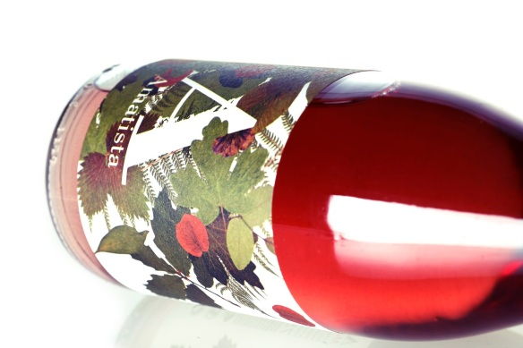 Amatista wine label design 1
