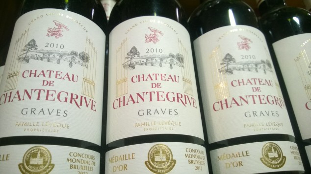 Chateau de Chantegrive Graves vin 2010 wine