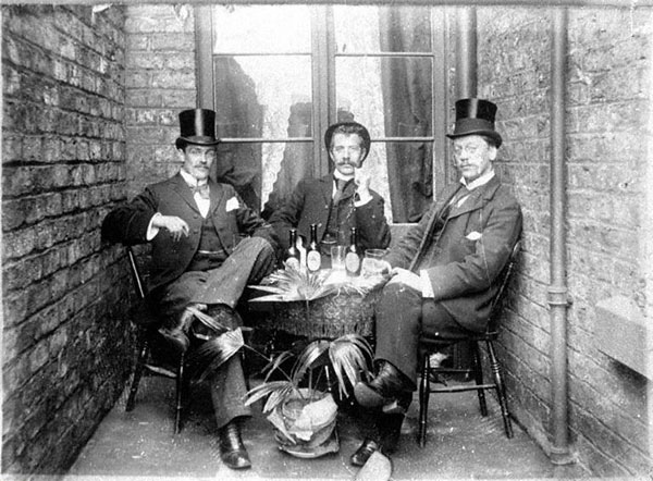 Gentlemen wine Burntisland 1900