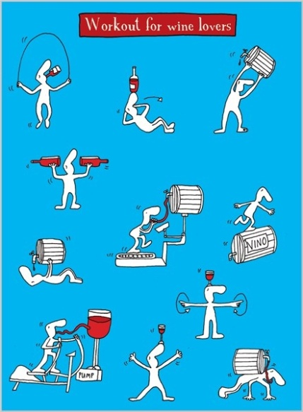 Work out for wine lover