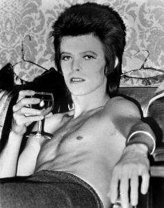 David Bowie vino