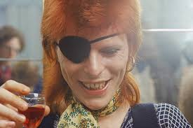 David Bowie Wine glass