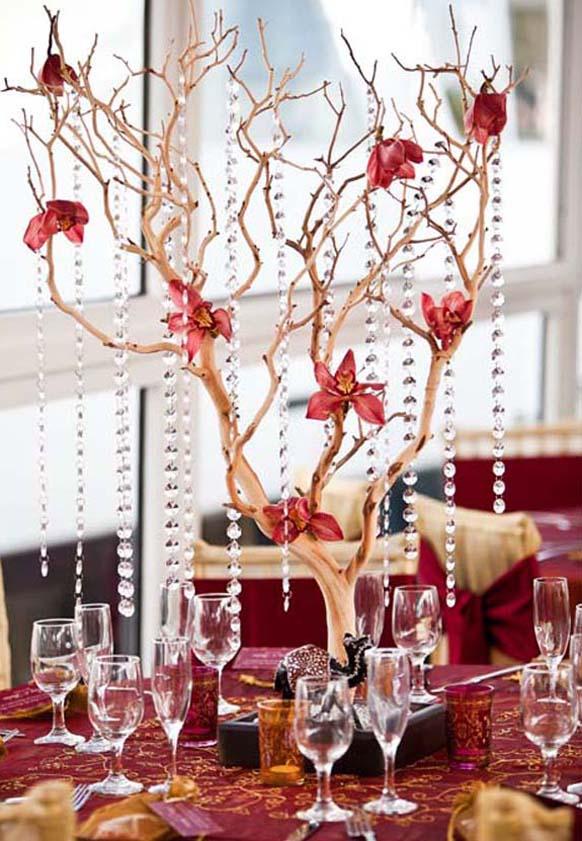 Ице декорација вино и цвеће