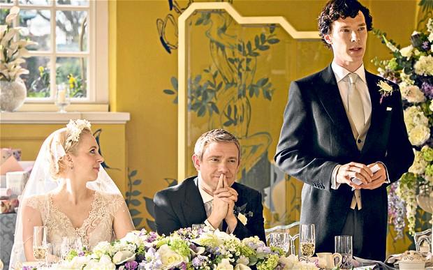 Sherlock Series 3 Benedict Cumberbatch Martin Freeman Amanda Abbington