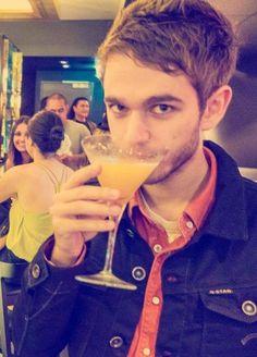 Anton Zaslavski (Zedd) drink