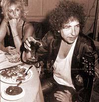 Bob Dylan drinking Wine