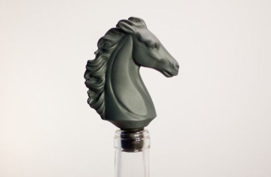 Horse bottle stopper by Bodo Sperlein for Spanish company Lladró