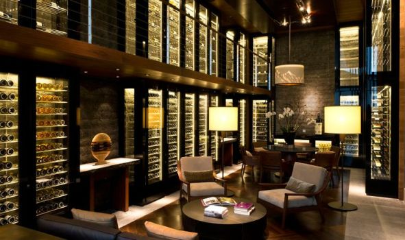The Wine Cigar Library GHM hotels