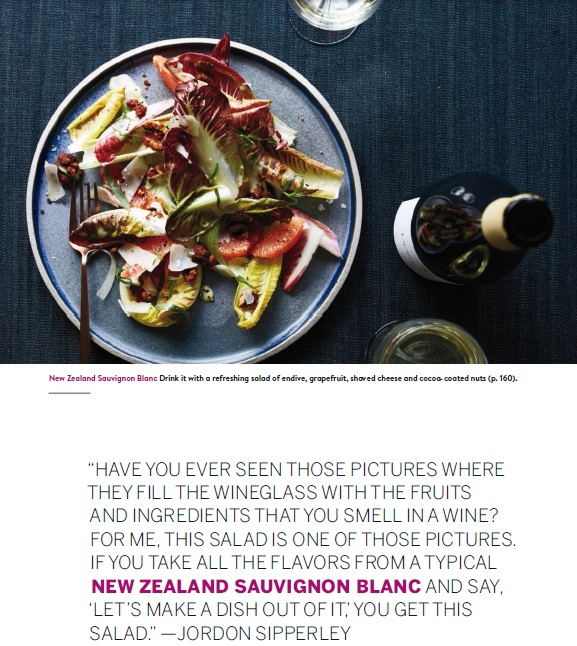 Food and Wine Sauvignon Blanc October 2015